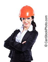 ingénieur, woman., business