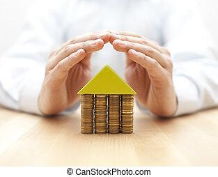 ingatlan, biztosítás, fogalom
