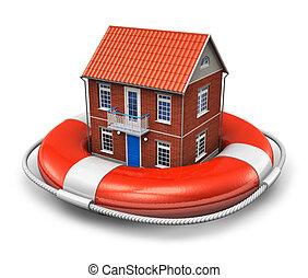 ingatlan tulajdon, biztosítás, fogalom