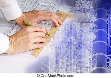 ingeniería, diseñar
