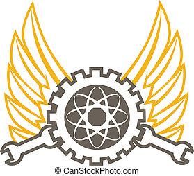 ingeniería, icono