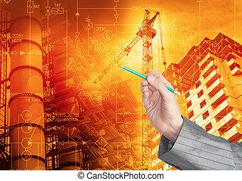 ingeniería, industrial, tecnología