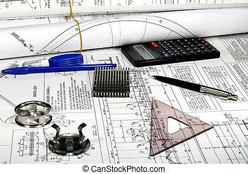 ingeniería, mecánico
