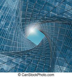 ingeniería, túnel
