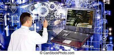 ingeniería, tecnología, software