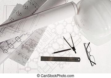 ingeniería, trabajo