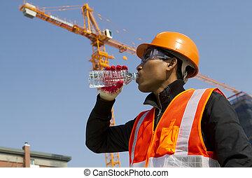 ingeniero, agua potable