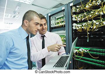 ingenjörstrupper, servare rum, nätverk, den