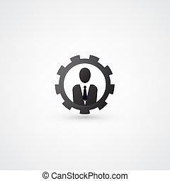 ingenjörsvetenskap, symbol