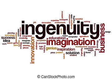 Ingenuity word cloud