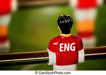 inglaterra, foosball, vindima, nacional, jogo, futebol...