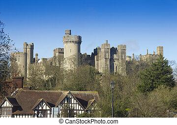 inglese, castello