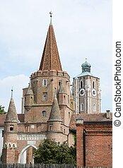 Ingolstadt City Gate - Kreuztor - the city gate of ...