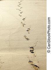 ingombri, sabbia, umano