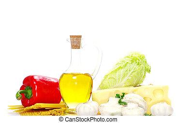 ingrédients, nourriture