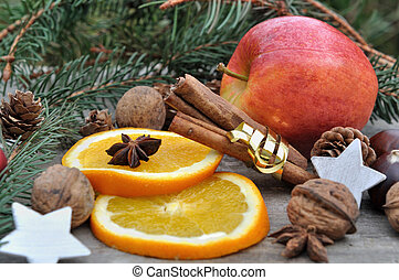 ingredient for holidays dessert