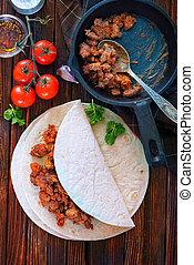 ingredientes,  Taco