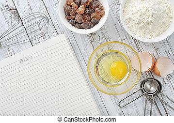 ingredienti cuociono forno