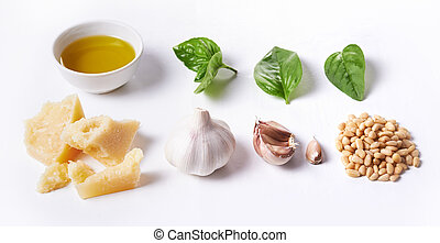 ingredients for pesto