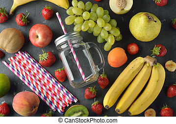 Ingredients for smoothies