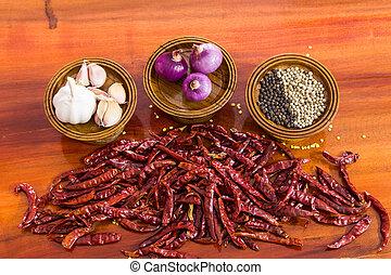 ingredients for thai food