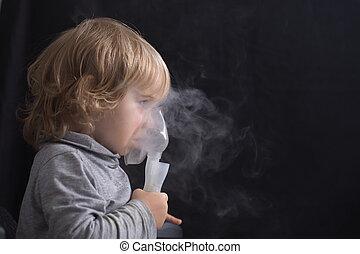 Inhalation mask child