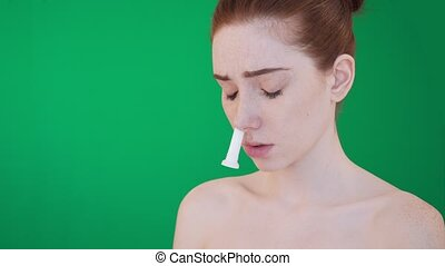 Inhalation stick for nose help with runnynose. - Young...
