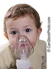 inhaler, masque