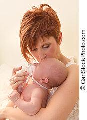 inhaler, voor, baby