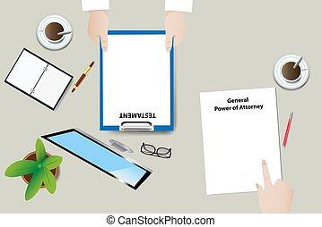 Inheritance interview concept vector