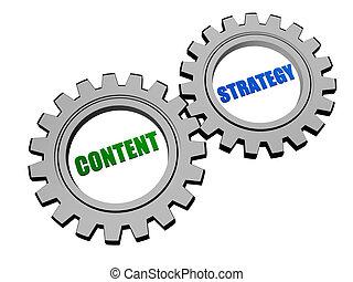 inhoud, toestellen, grijze , zilver, strategie