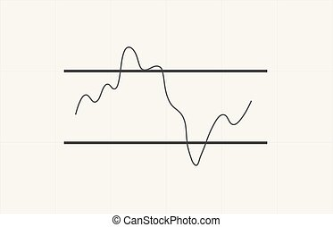inhoudsopgave, indicator, forex, rsi, verwisselen, technisch, familielid, grafiek, chart., cryptocurrency, analytics, vector, handel, analysis., kracht, markt, liggen