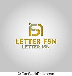 Initial fsn, ifsn, isn Logo, photos, royalty-free images, graphics, vector