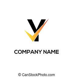 initial letter logo design template vector