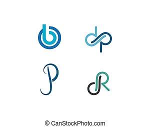 Initial letter logo vector