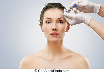injection, botox