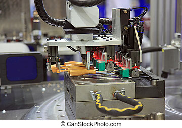 Injection moulding machine of plastic parts - Injection...
