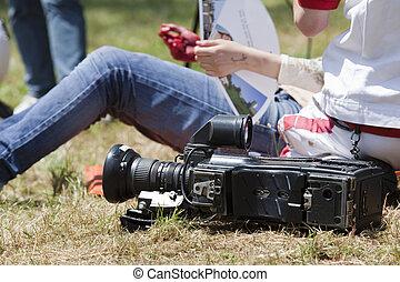 injured cameraman