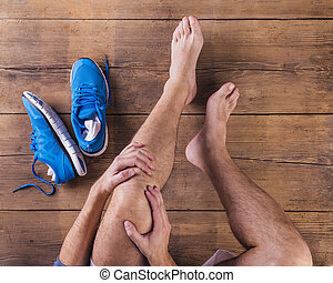 Injured runner