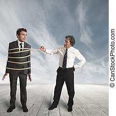 injusto, competición, en, empresa / negocio