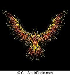 Ink blots phoenix