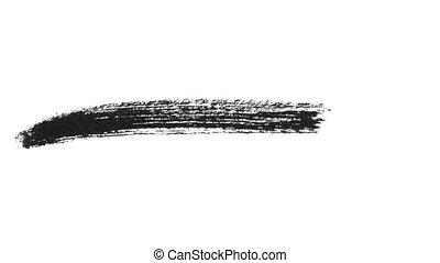 Ink Brush Stroke Set whit Alpha (transparency) channel....