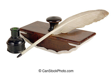 ink device - The ancient ink device. It was used the last...