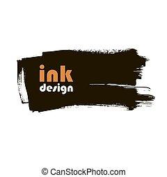ink grunge banner