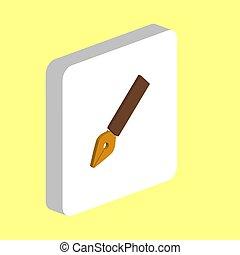 ink pen computer symbol