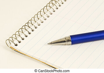 Ink Pen on Steno Pad