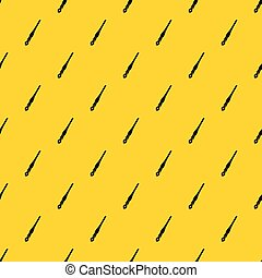 Ink pen pattern vector