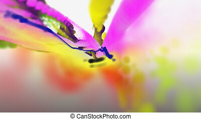 ink smoke color abstract background