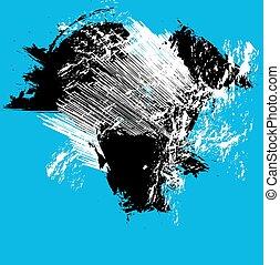 ink splash background, vector