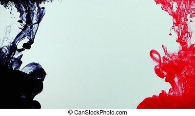 Ink Splash in Underwater